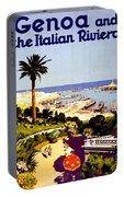 Genoa, Italian Riviera, Coast Portable Battery Charger