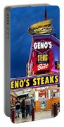 Geno's Steaks South Philly Portable Battery Charger