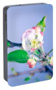 Gentle Apple Tree Flowers Portable Battery Charger