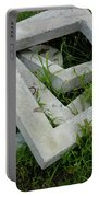 Geo In The Grass Portable Battery Charger