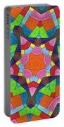 Geometric Pattern 1 Portable Battery Charger