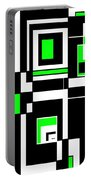 Geometric Pizazz 4 Portable Battery Charger
