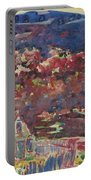 George Benjamin Luks 1867   1933 Purple Hills Portable Battery Charger