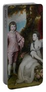 George Capel, Viscount Malden, And Lady Elizabeth Capel Portable Battery Charger