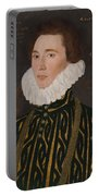 George Gower Portrait Of Thomas Slingsby 1556  1579 1577 Portable Battery Charger