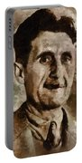 George Orwell Author Portable Battery Charger