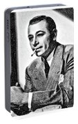 George Raft, Vintage Actor By Js Portable Battery Charger