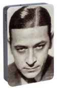 George Raft, Vintage Actor Portable Battery Charger