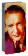 George Sanders, Vintage Hollywood Actor Portable Battery Charger