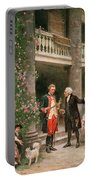 George Washington At Bartrams Garden Portable Battery Charger