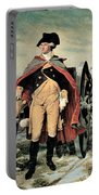 George Washington At Dorchester Heights Portable Battery Charger