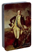 George Washington At Princeton Portable Battery Charger
