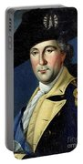 George Washington Portable Battery Charger by Samuel King