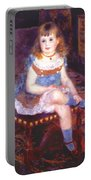 Georgette Charpentier Seated 1876 Portable Battery Charger