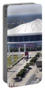 Georgia Dome In Atlanta Portable Battery Charger