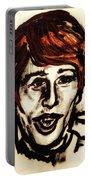 Georgie Fame Portrait Portable Battery Charger
