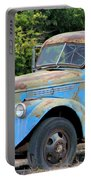 Geraine's Blue Truck Portable Battery Charger