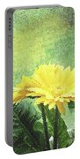 Gerber Daisy And Reflection Portable Battery Charger
