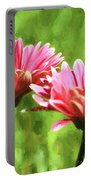 Gerbera Daisies To Brighten Your Day Portable Battery Charger