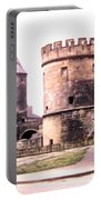 German Gate In Metz 1955 Portable Battery Charger