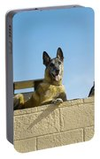 German Shephard Military Working Dogs Portable Battery Charger
