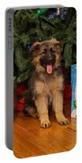 German Shepherd Puppy Card Portable Battery Charger