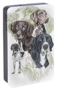 German Shorted-haired Pointer Revamp Portable Battery Charger