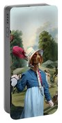 German Shorthaired Pointer - Kurzhaar Art Canvas Print - The Summer Party Portable Battery Charger