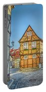 Germany - Half-timbered Houses And Alleys In Quedlinburg Portable Battery Charger