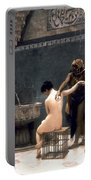Gerome: The Bath, 1880 Portable Battery Charger