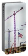 Getter Done Tower Crane Construction Art Portable Battery Charger