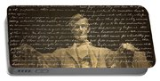 Gettysburg Address Portable Battery Charger