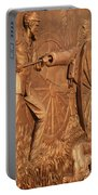 Gettysburg Bronze Relief Portable Battery Charger