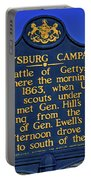 Gettysburg Campaign Portable Battery Charger