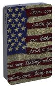 Gettysburg Homage Flag Portable Battery Charger
