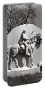 Gettysburg National Park 17th Pennsylvania Cavalry Monument Portable Battery Charger