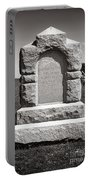 Gettysburg National Park Third West Virginia Cavalry Monument Portable Battery Charger