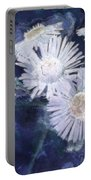 Ghost Flowers Portable Battery Charger