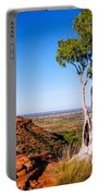 Ghost Gum On Kings Canyon - Northern Territory, Australia Portable Battery Charger