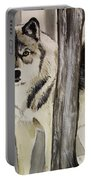 Ghost In The Woods Portable Battery Charger