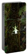 Ghost Orchid Of The Fakahatchee Strand Portable Battery Charger
