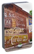 Ghost Signs In Radford Virginia Portable Battery Charger by Kerri Farley