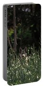 Ghost Wolf Portable Battery Charger by DigiArt Diaries by Vicky B Fuller