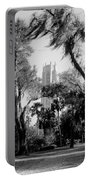 Ghostly Bok Tower Portable Battery Charger