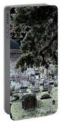 Ghostly Cemetary Portable Battery Charger