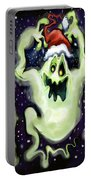 Ghostly Christmas Trio Portable Battery Charger