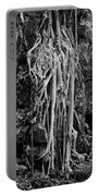 Ghostly Roots - Bw Portable Battery Charger