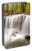 Ghostly Waterfall Portable Battery Charger