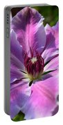 Giant Clematis Portable Battery Charger