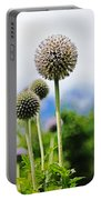 Giant Globe Thistle Portable Battery Charger